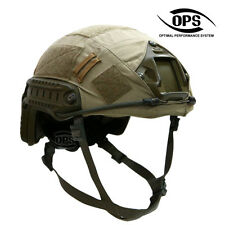 OPS/UR-TACTICAL HELMET COVER FOR OPS-CORE FAST HELMET IN TAN-L/XL