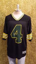 Vtg 1995 Brett Favre Starter Jersey RARE Black #4 sz 48/XL Green Bay Packers