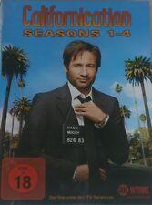 Californication, Staffeln 1+2+3+4, Limitierte DVD Box, OOP, NEU&OVP