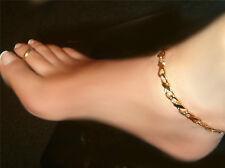 Designer Solid INFINTE LINK love anklet 1/4 inch Wide