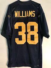 Reebok Authentic NFL Jersey Green Bay Packers Tramon Williams Navy Thbk sz 50