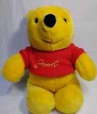 "Vintage Sears Walt Disney Winnie The Pooh Bear 12"" Plush Embroidery Sweater"