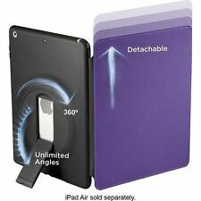 Purple Case Cover w/ Stand Mountable 360° Apple iPad Air 9.7 1st Gen