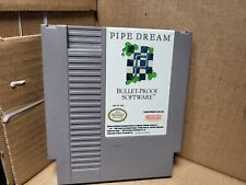 PIPE DREAM--ORIGINAL NES GAME--WORKS PERFECT--HAVE A L@@K!
