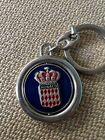 Vintage Keychain Souvenir Monaco Spins