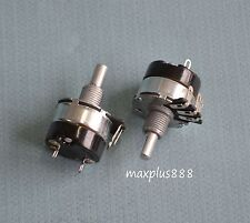 2pcs High Quality Potentiometer With Switch 10K Ohm WH134-2 Brand New