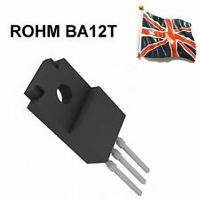 BA12T GENUINE ROHM 12V LOW SATURATION REGULATOR TO-220F NEW UK STOCK
