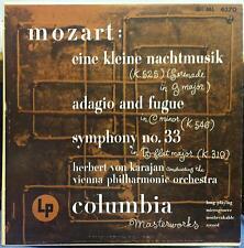 Karajan - Mozart Eine Kleine Nachtmusik LP VG ML 4370 1st 1951 Alex Steinweiss