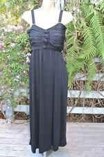 NEW Crossroads BLACK Knot Bodice MAXI DRESS Size XXLarge -22/24. $39.95