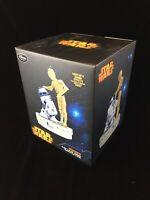 Disney LE Star Wars C-3PO & R2-D2 Figurine Limited Edition 141/500