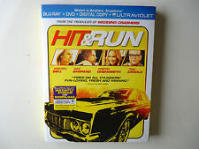 Hit & Run (Blu-ray Disc, 2013, 2-Disc Set,  UltraViolet) NEW w/slipcover