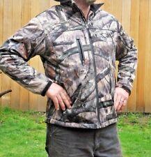 NWoT Drift Creek Mossy Oak Camo Jacket Men's Size LARGE / L Alaska Elfin Cove
