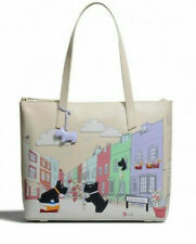 Radley Large Leather Chin Wag Picture Shoulder Tote Bag