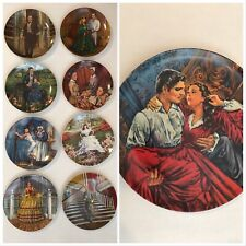 """Knowles """"Gone With The Wind"""" Collector Plates (Complete set of 9)"""