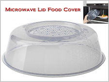 """Microwave Cover Food Lid to Prevent Splatters when Cooking Diameter 10"""" BPA-Free"""