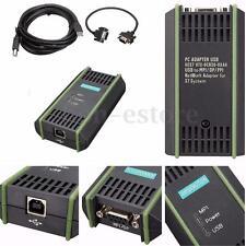 PLC Cable for Siemens S7 200/300/400 6ES7 972-0CB20-0XA0 USB-MPI+ PC USB-PPI New