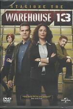 Warehouse 13. Stagione 3 (2011) 4 DVD
