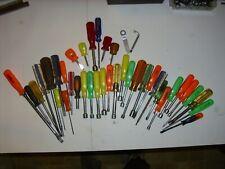 Huge 40 pc Tool Lot Screwdrivers Nut drivers