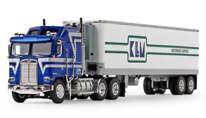 DCP KLLM NATIONWIDE CARRIER KENWORTH K-100 AERODINE WITH REEFER 1/64 60-1015