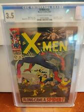 Marvel Comics X-men #35 CGC 3.5 Spider-Man Crossover Key Comic Book