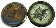 Nautical Maritime Boys Scout Of America Compass Maritime Brass Compass Set of 10