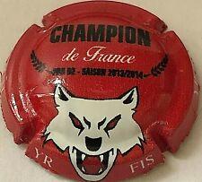 Capsule de Champagne De VENOGE (229a. Lou Champion)
