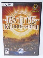 Señor de los Anillos: la batalla por la tierra media juego PC DVD * * en Caja Y Completo