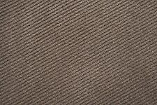 Upholstery Fabric - Striped Suede Coffee (20m)