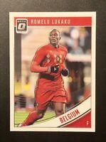 2018-19 Donruss Romelu Lukaku Optic Belgium #99