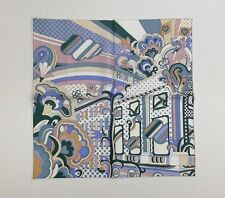 NWT Hermes Faubourg Rainbow Detail silk twill pocket square gavroche 45