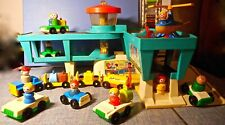 New ListingVintage Fisher Price Little People Play Family Airport Terminal & Accessories