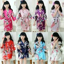 HOT Baby Girls Kids Boy Night BathRobe Sleepwear Homewear Pajamas Nightwear Robe