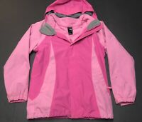 North Face Girls Sz XL Full Zip Shell Insulated Hood Jacket Layers fits Womens M