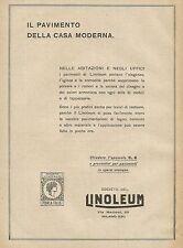 Y0565 LINOLEUM il pavimento della casa moderna - Pubblicità d'epoca - Advertis.
