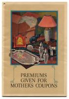 """1930 Mothers Coupon Premium 6-1/2"""" x 9-1/2"""" Catalog & Original Envelope 40 Pages"""