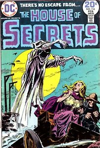 House Of Secrets #116 - Luis Dominguez Cover - Redondo Art - DC-ORIGINAL OWNER