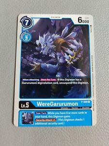 WereGarurumon Promo   NM/M   P-008 P   Digimon CCG