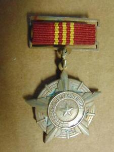 Vietnam War NVA First Class Medal Chong My Cuu Nuoc Medal Pin