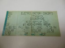 "1991 QUEENSRYCHE ""EMPIRE"" TOUR CONCERT TICKET HERSEY PA RARE OK CONDITION"