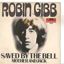ROBIN GIBB - SAVED BY THE BELL  - SOLO COPERTINA - ONLY COVER - EX++