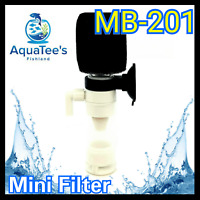 AQUATEE MB-201 MINI SPONGE FILTER FISH TANK WATER PUMP NANO MARINE SUBMERSIBLE
