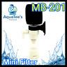 AQUATEE MB-201 MINI SPONGE FILTER FISH TANK WATER PUMP NANO MARINE SUBMERSIBLE