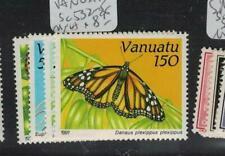 Vanuatu Butterfly SC 532-5 MNH (7egk)