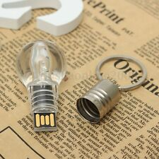 32 G GO GB CLE USB 2.0 Mémoire Blue LED Lamp Bulb Memory Flash Pen Drive WIN7 PC