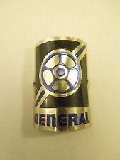 Vintage General Bicycle Head Badge Emblem #1