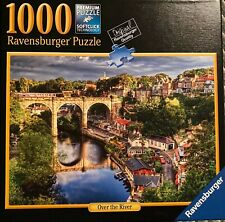 """jigsaw puzzle 1000 piece 15 ysr. & up, """"Over The River"""" Ravensburger"""