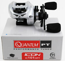 QUANTUM PT ICON IC101HPT 7.0:1 LEFT HAND BAITCAST REEL