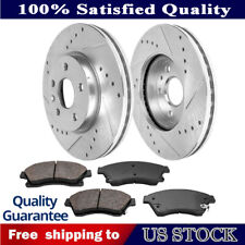 CHE079FS Chevy Cruze 2011-15 Brake 2 Front Set Cross Drill /& Dimple Slots