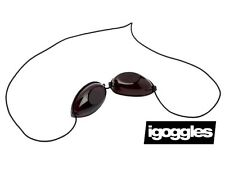 iGOGGLES / ELASTIC SUNBED GOGGLES / EYE PROTECTION GOGGLES FOR TANNING