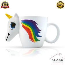 Arco IRIS UNICORNIO cambio de color café de sensibles al calor Taza Regalo de Cumpleaños Reino Unido